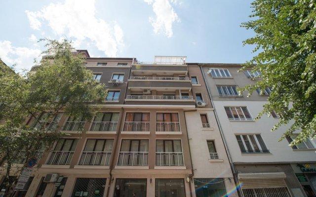 Апартаменты Sofia Apartments - Sofia City Centre вид на фасад