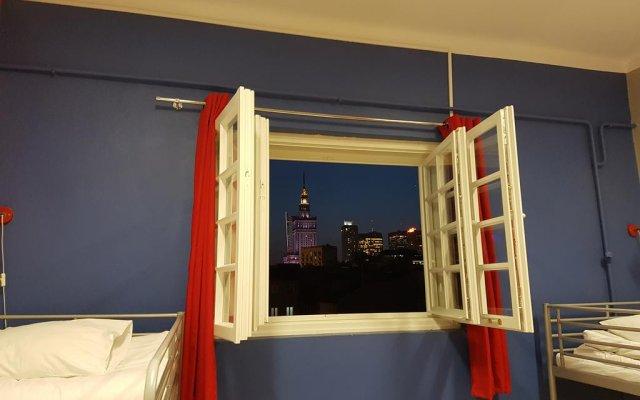 New World St. Hostel Варшава комната для гостей