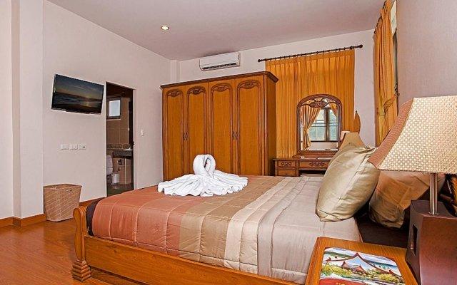 Отель Jomtien Summertime Villa B - 3 Bedroom комната для гостей