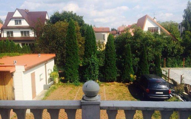 Отель Rezydencja Parkowa Варшава балкон