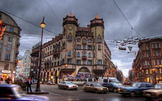 Хостел City 812 вид на фасад