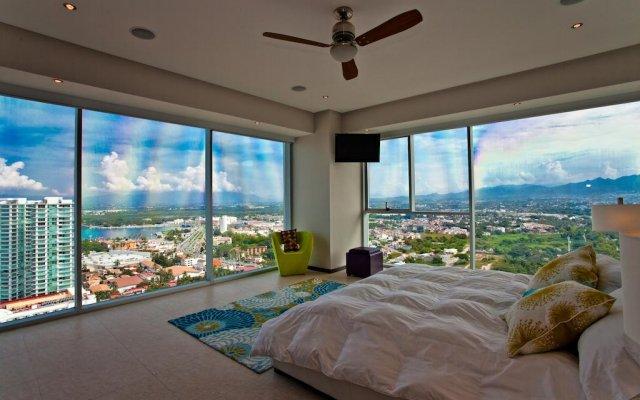 Отель Vallarta Penthouse комната для гостей
