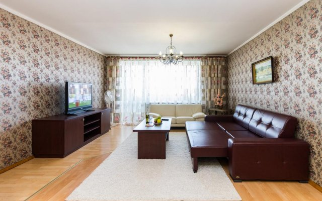 Апартаменты Molnar Apartments Минск комната для гостей