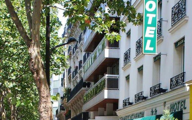 Hotel Transcontinental вид на фасад