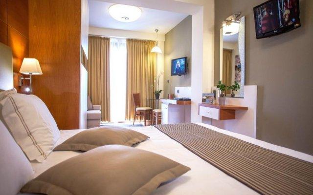 Anthemus Sea Beach Hotel and Spa комната для гостей