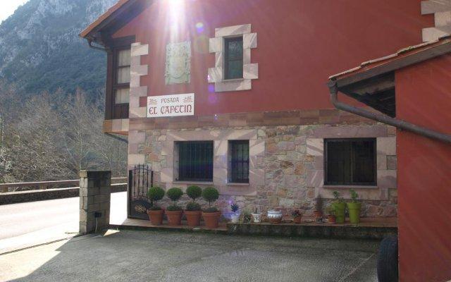 Отель Posada El Cafetín вид на фасад