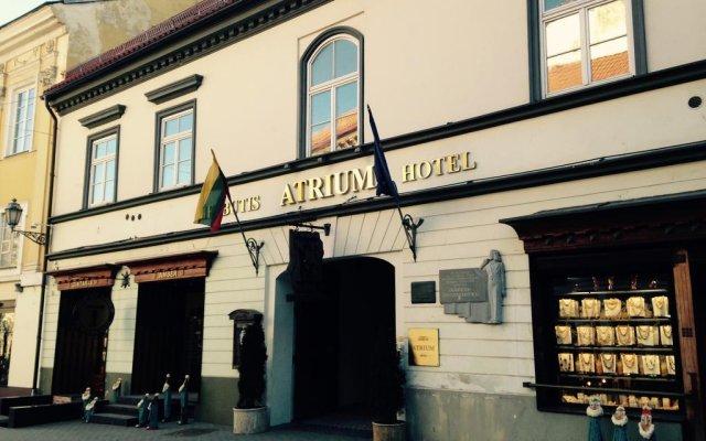 Отель Atrium Вильнюс вид на фасад