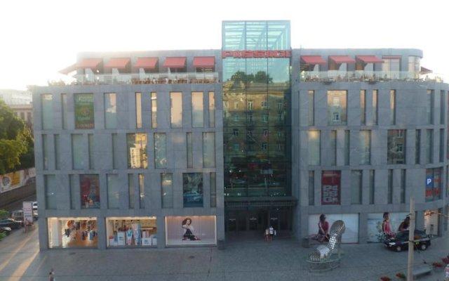 Апартаменты Apartments Elite Dnepr вид на фасад