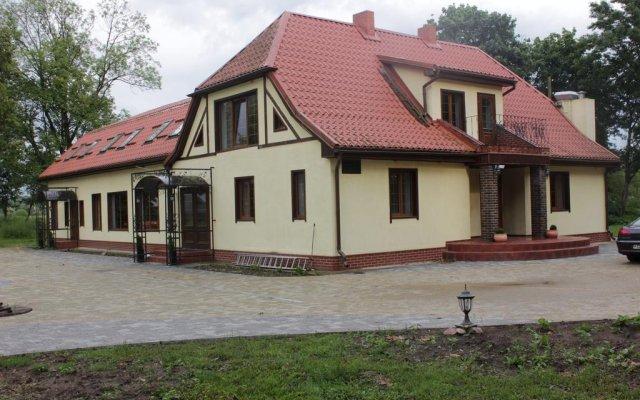 Гостиница Guesthouse Waldhauzen вид на фасад