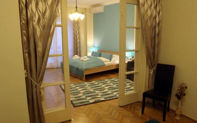 Апартаменты Abt Apartments Budapest Molnar Будапешт комната для гостей