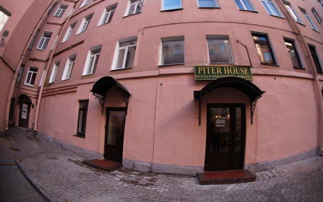 Гостиница Питер Хаус вид на фасад