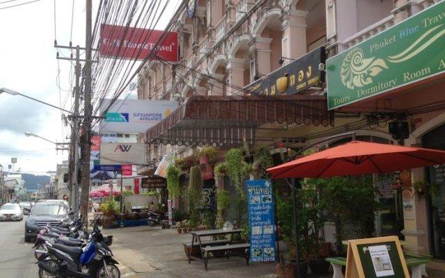 Phuket Blue Hostel Пхукет вид на фасад