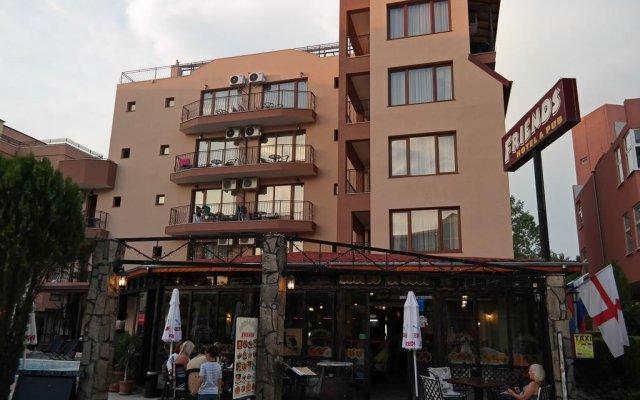 Семейный отель Друзья Солнечный берег вид на фасад