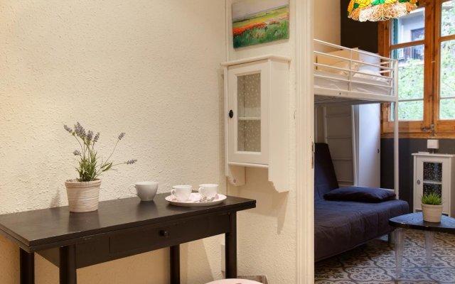 Апартаменты Centric Apartments Sagrada Famila 3 Барселона комната для гостей