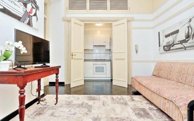 Апартаменты Pompeo Apartment комната для гостей