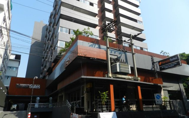 Отель Nanatai Suites вид на фасад
