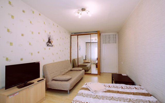Гостиница Flatio на Щелковской комната для гостей