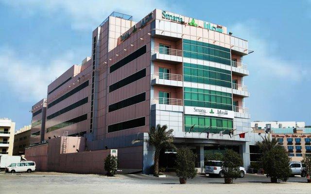 Отель Smana Al Raffa Дубай вид на фасад