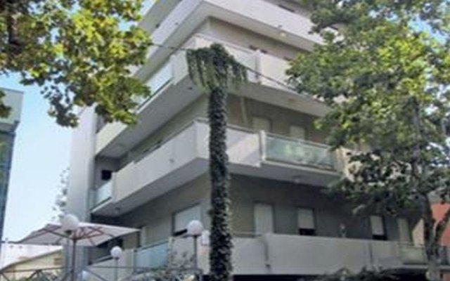 Отель Nevada Appartamenti Римини вид на фасад