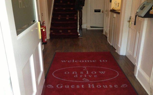 Отель Onslow Guest house интерьер отеля