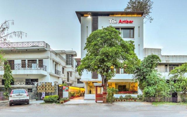 Отель Treebo Tryst Amber вид на фасад
