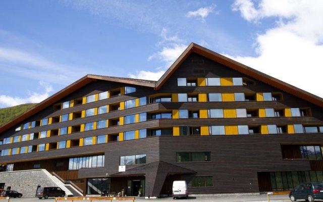 Myrkdalen Hotel вид на фасад