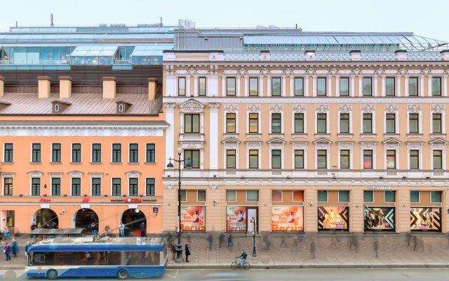 Апартаменты Невский 79 вид на фасад