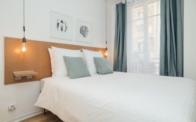 Апартаменты Contemporary Apartment in Nice комната для гостей
