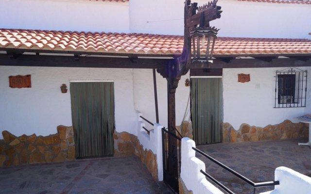 Отель Complejo de Cuevas Almugara вид на фасад