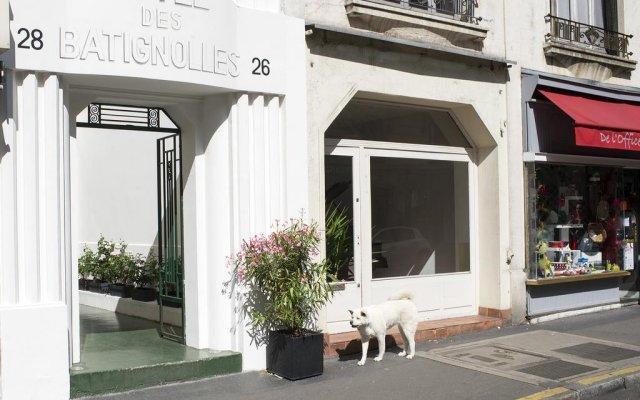 Hotel des Batignolles вид на фасад