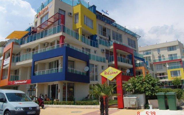 Отель Bilyana Sun Homes вид на фасад