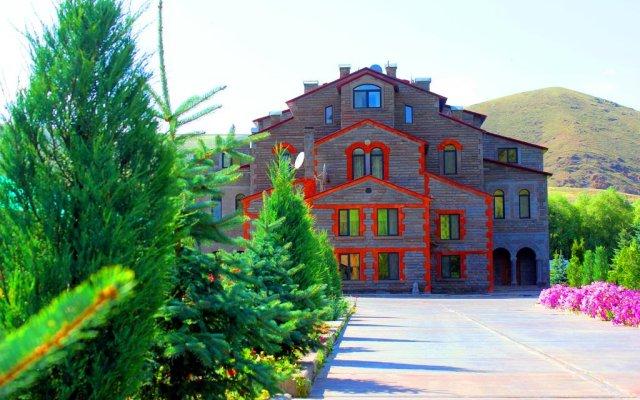 База Отдыха Резорт MJA вид на фасад