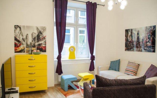 Отель Urban Flats Vienna Danube комната для гостей
