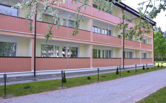 Гостиница Turisticheko ozdorovitelnyi complex Pyshki вид на фасад