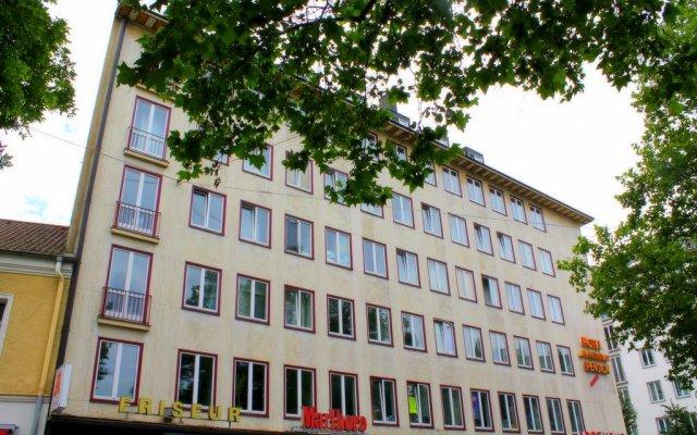 Hotel Mons Am Goetheplatz вид на фасад