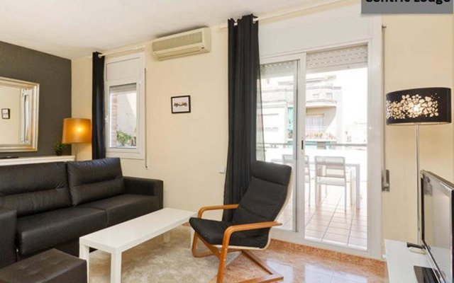Апартаменты Centric Lodge Apartments Барселона комната для гостей