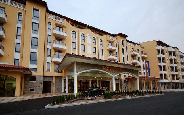 Apart Hotel Royal Sun Солнечный берег вид на фасад