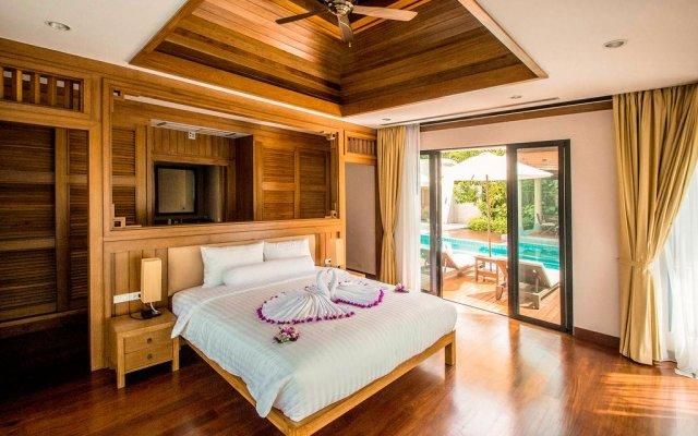 Отель Lake View Baan Bua Villas by Railand комната для гостей