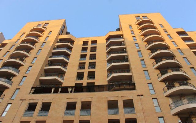 Апартаменты Alley Residence Yerevan Apartments (New Building) вид на фасад