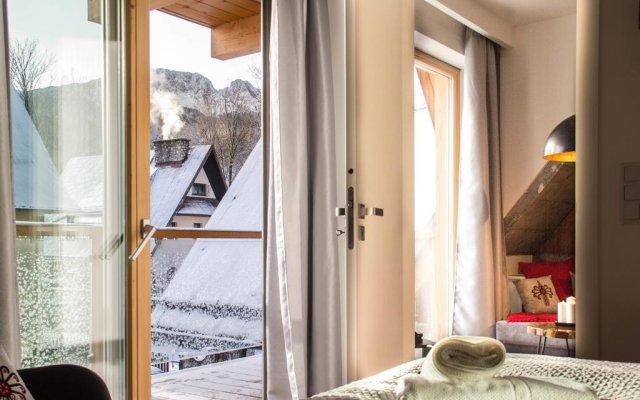 Отель Apartamenty Pod Giewontem Lux&spa Zakopane Закопане комната для гостей