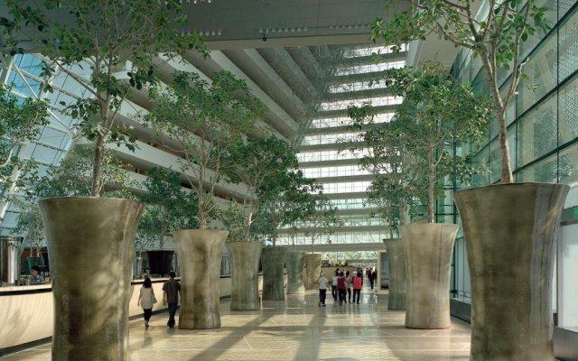 Отель Marina Bay Sands вид на фасад