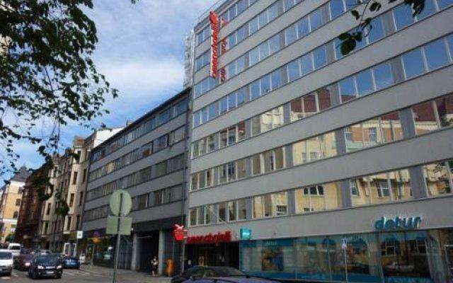Omena Hotel Helsinki Eerikinkatu вид на фасад