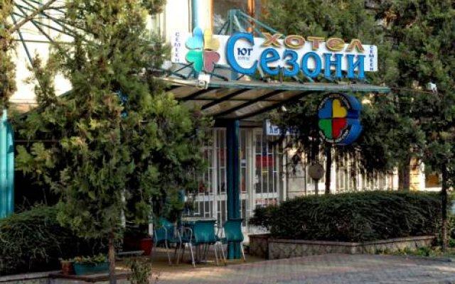 Отель Sezoni South Burgas вид на фасад