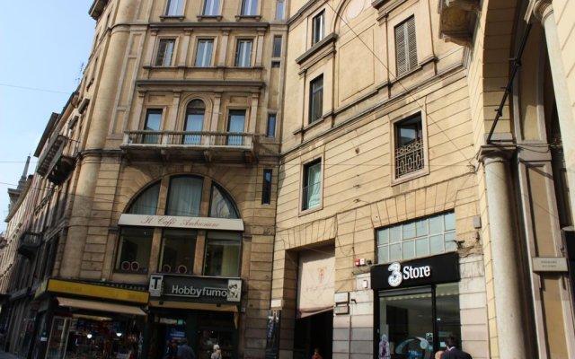 Отель Aparthotel dei Mercanti Италия, Милан - 2 отзыва об отеле, цены и фото номеров - забронировать отель Aparthotel dei Mercanti онлайн вид на фасад