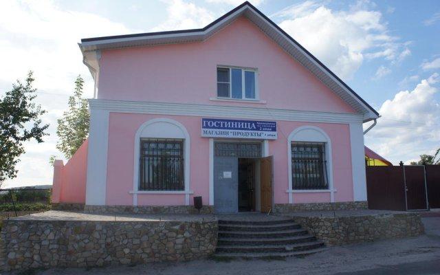 Гостиница Чайка вид на фасад