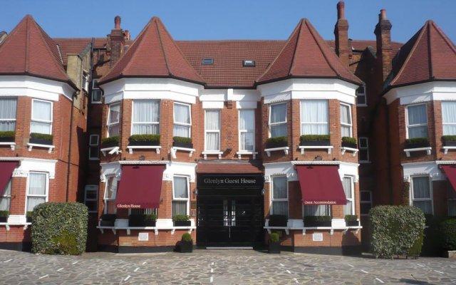 Отель Glenlyn Apartments Великобритания, Лондон - отзывы, цены и фото номеров - забронировать отель Glenlyn Apartments онлайн вид на фасад