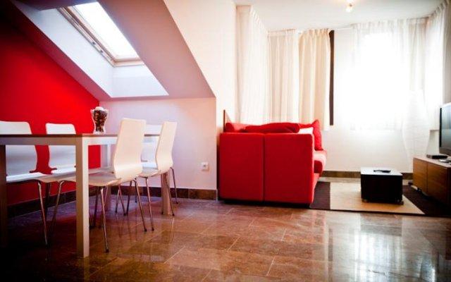 Отель Apartamentos Abaco комната для гостей