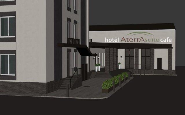 Гостиница Aterra Suite вид на фасад