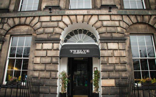 Отель Twelve Picardy Place Великобритания, Эдинбург - отзывы, цены и фото номеров - забронировать отель Twelve Picardy Place онлайн вид на фасад