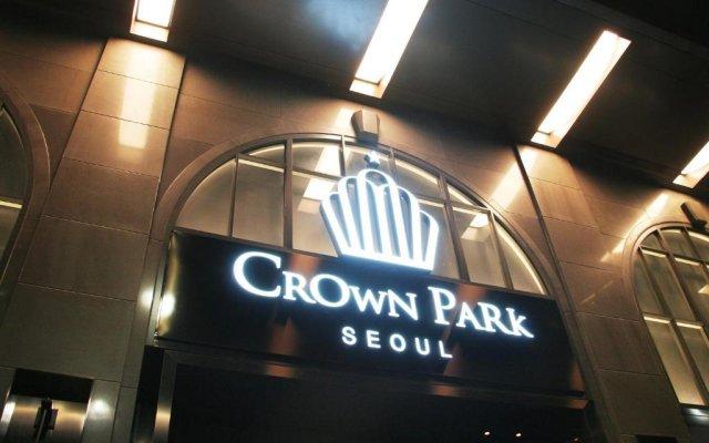 Отель Crown Park Hotel Южная Корея, Сеул - отзывы, цены и фото номеров - забронировать отель Crown Park Hotel онлайн вид на фасад